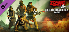 Zombie Army 4: Zombie Headgear Pack logo