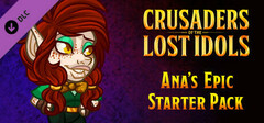 Crusaders of the Lost Idols: Ana's Epic Starter Pack logo