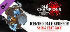 Idle Champions - Icewind Dale Bruenor Skin & Feat Pack logo