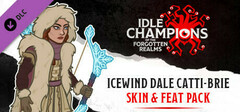 Idle Champions - Icewind Dale Catti-brie Skin & Feat Pack logo