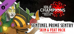Idle Champions - Sentinel Prime Sentry Skin & Feat Pack logo