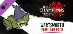 Idle Champions - Wartsworth the Toad Familiar Pack logo