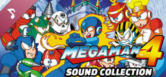 Mega Man 4 Sound Collection logo