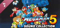 Mega Man 5 Sound Collection logo