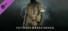 METAL GEAR SOLID V: THE PHANTOM PAIN - Fatigues (Naked Snake) logo
