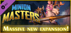 Minion Masters - Charging Into Darkness logo