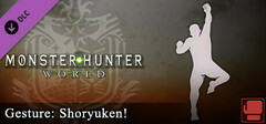 Monster Hunter: World - Gesture: Shoryuken! logo