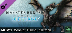 Monster Hunter World: Iceborne - MHW:I Monster Figure: Alatreon logo