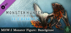 Monster Hunter World: Iceborne - MHW:I Monster Figure: Bazelgeuse logo