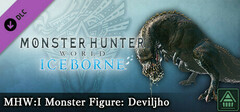 Monster Hunter World: Iceborne - MHW:I Monster Figure: Deviljho logo