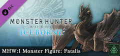 Monster Hunter World: Iceborne - MHW:I Monster Figure: Fatalis logo
