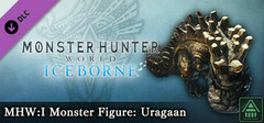 Monster Hunter World: Iceborne - MHW:I Monster Figure: Uragaan logo