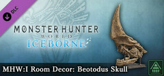 Monster Hunter World: Iceborne - MHW:I Room Decor: Beotodus Skull logo