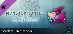 Monster Hunter World: Iceborne - Pendant: Beelzeboar logo