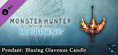 Monster Hunter World: Iceborne - Pendant: Blazing Glavenus Candle logo