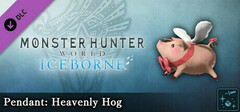Monster Hunter World: Iceborne - Pendant: Heavenly Hog logo
