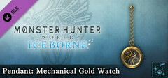 Monster Hunter World: Iceborne - Pendant: Mechanical Gold Watch logo