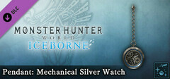 Monster Hunter World: Iceborne - Pendant: Mechanical Silver Watch logo