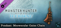 Monster Hunter World: Iceborne - Pendant: Meowscular Gains Chain logo