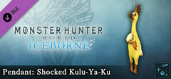 Monster Hunter World: Iceborne - Pendant: Shocked Kulu-Ya-Ku logo