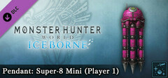 Monster Hunter World: Iceborne - Pendant: Super-8 Mini (Player 1) logo