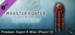 Monster Hunter World: Iceborne - Pendant: Super-8 Mini (Player 2) logo