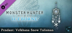 Monster Hunter World: Iceborne - Pendant: Velkhana Snow Talisman logo