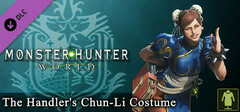 Monster Hunter: World - The Handler's Chun-Li Costume logo