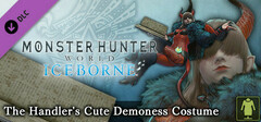 Monster Hunter: World - The Handler's Cute Demoness Costume logo