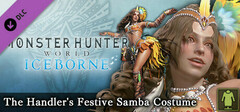 Monster Hunter: World - The Handler's Festive Samba Costume logo