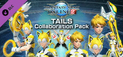 Phantasy Star Online 2: TAILS Collaboration Pack logo