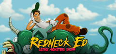 Redneck Ed: Astro Monsters Show logo