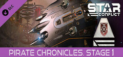 Star Conflict - Pirate Chronicles. Stage one logo