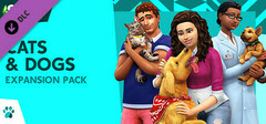The Sims™ 4 Cats & Dogs logo