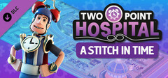 Two Point Hospital: A Stitch in Time logo